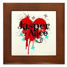 Jasper & Alice Framed Tile
