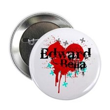 "Edward & Bella 2.25"" Button"