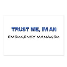 Trust Me I'm an Emergency Manager Postcards (Packa