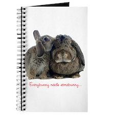 Everybunny needs somebunny Journal