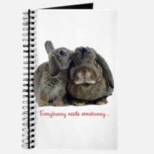 Everybunny needs somebunny Journal