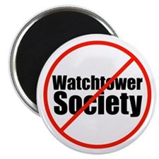 """Anti-Watchtower 2.25"""" Magnet (10 pack)"""