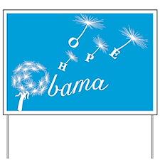 Obama Seeds Hope Yard Sign