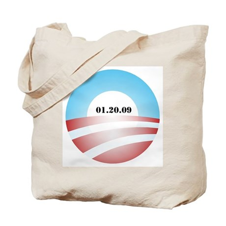 Obama Inauguration Logo 01.20 Tote Bag