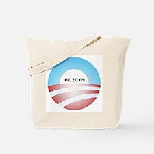 Obama Inauguration Logo 01.20 Tote Bag