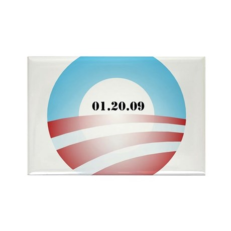 Obama Inauguration Logo 01.20 Rectangle Magnet