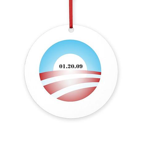 Obama Inauguration Logo 01.20 Ornament (Round)