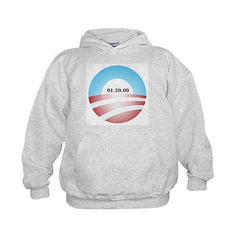 Obama Inauguration Logo 01.20 Kids Hoodie