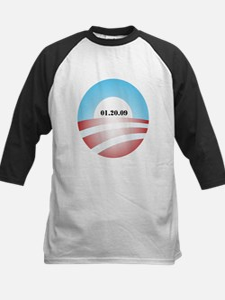Obama Inauguration Logo 01.20 Kids Baseball Jersey