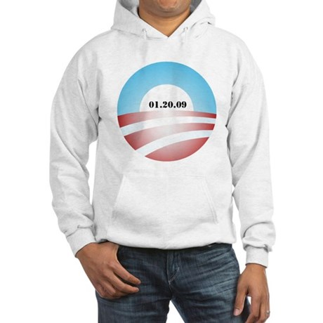 Obama Inauguration Logo 01.20 Hooded Sweatshirt