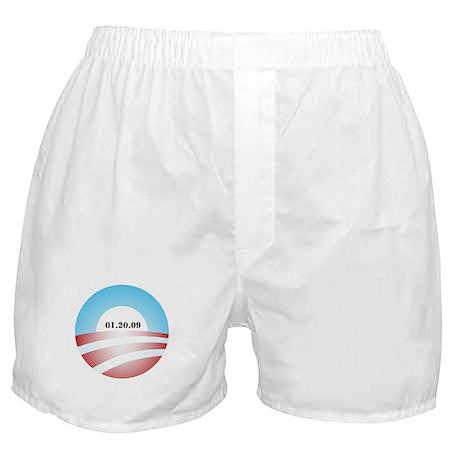 Obama Inauguration Logo 01.20 Boxer Shorts