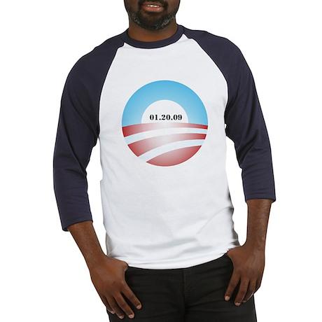 Obama Inauguration Logo 01.20 Baseball Jersey