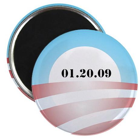 "Obama Inauguration Logo 01.20 2.25"" Magnet (100 pa"