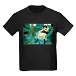 Little Girl Kids Dark T-Shirt