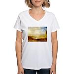 Distant Women's V-Neck T-Shirt