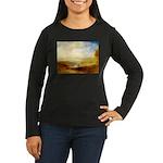 Distant Women's Long Sleeve Dark T-Shirt
