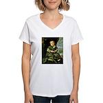 Lezcano Women's V-Neck T-Shirt