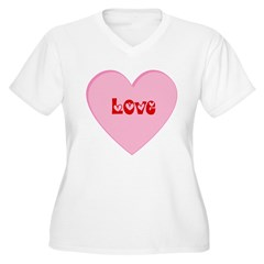 Valentines Day Love Heart T-Shirt