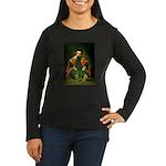 Sdemorra Women's Long Sleeve Dark T-Shirt