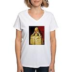 Infanta Women's V-Neck T-Shirt
