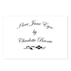 I love Jane Eyre Postcards (Package of 8)