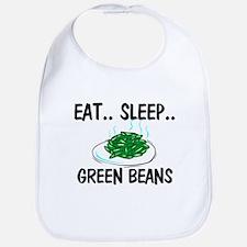 Eat ... Sleep ... GREEN BEANS Bib