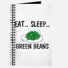 Eat ... Sleep ... GREEN BEANS Journal