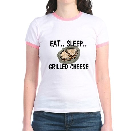 Eat ... Sleep ... GRILLED CHEESE Jr. Ringer T-Shir