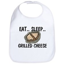 Eat ... Sleep ... GRILLED CHEESE Bib