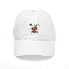 Eat ... Sleep ... GRILLING Baseball Cap