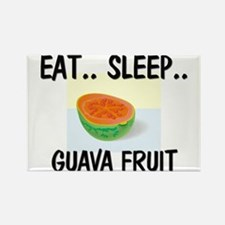 Eat ... Sleep ... GUAVA FRUIT Rectangle Magnet