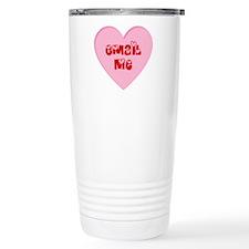 Email Me Valentine Heart Travel Mug