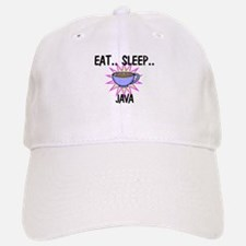 Eat ... Sleep ... JAVA Baseball Baseball Cap
