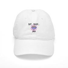 Eat ... Sleep ... JAVA Baseball Cap