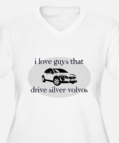 Silver Volvo Drivers T-Shirt