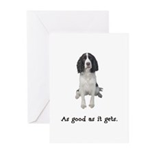 Good Springer Spaniel Greeting Cards (Pk of 10)