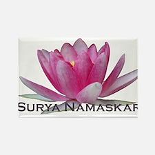 Surya Namaskar Rectangle Magnet