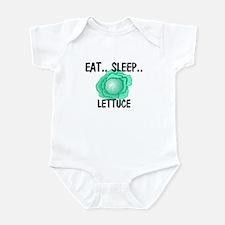 Eat ... Sleep ... LETTUCE Infant Bodysuit