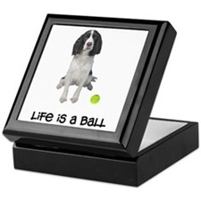 Springer Spaniel Life Keepsake Box