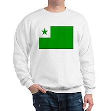Esperanta Flago Sweatshirt