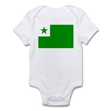 Esperanta Flago Infant Bodysuit