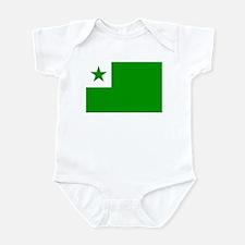 Esperanta Flago Infant Bodysuit