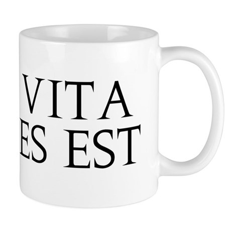 Dum Vita Est Spes Est Mug