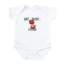 Eat ... Sleep ... LYCHEE Infant Bodysuit