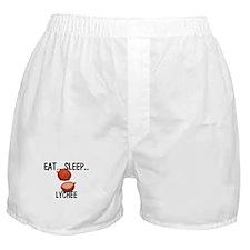 Eat ... Sleep ... LYCHEE Boxer Shorts
