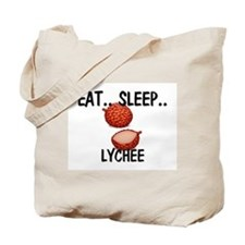 Eat ... Sleep ... LYCHEE Tote Bag