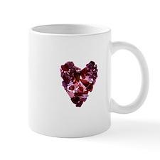 Beach Glass Heart Mug