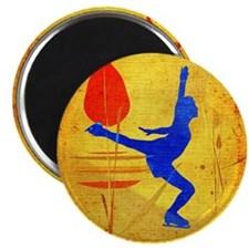 "Figure Skating 2.25"" Magnet (10 pack)"