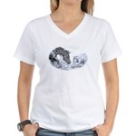 Cutting Horse Women's V-Neck T-Shirt