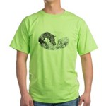 Cutting Horse Green T-Shirt